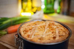 Chicken & Mushroom Puff Pie